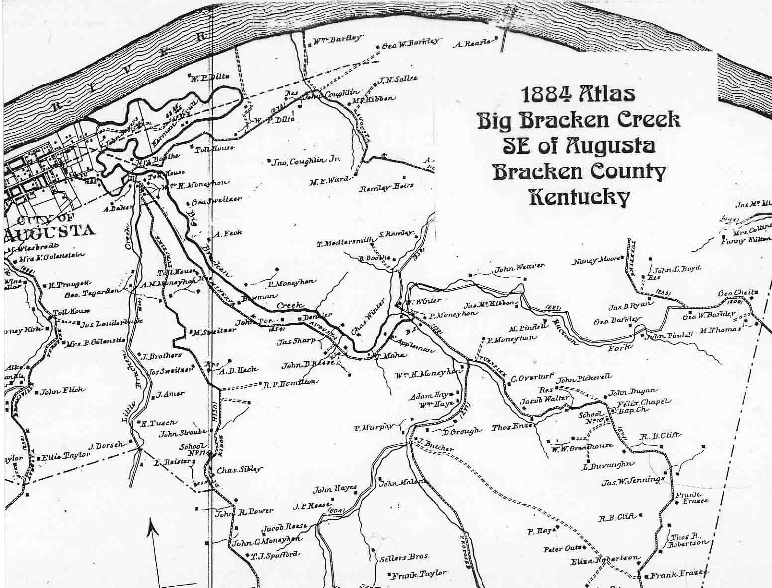 Bracken County, Kentucky USGenWeb Free Genealogy Maps Geographical