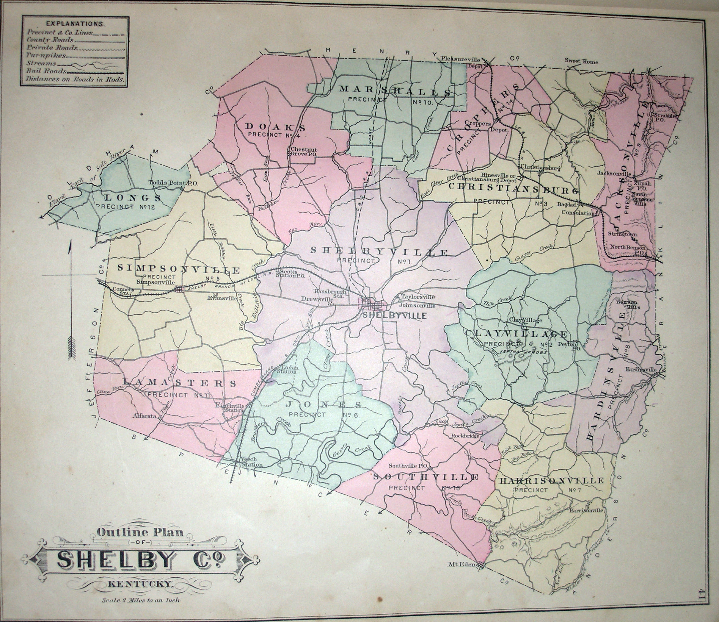 Henry County Historical Maps