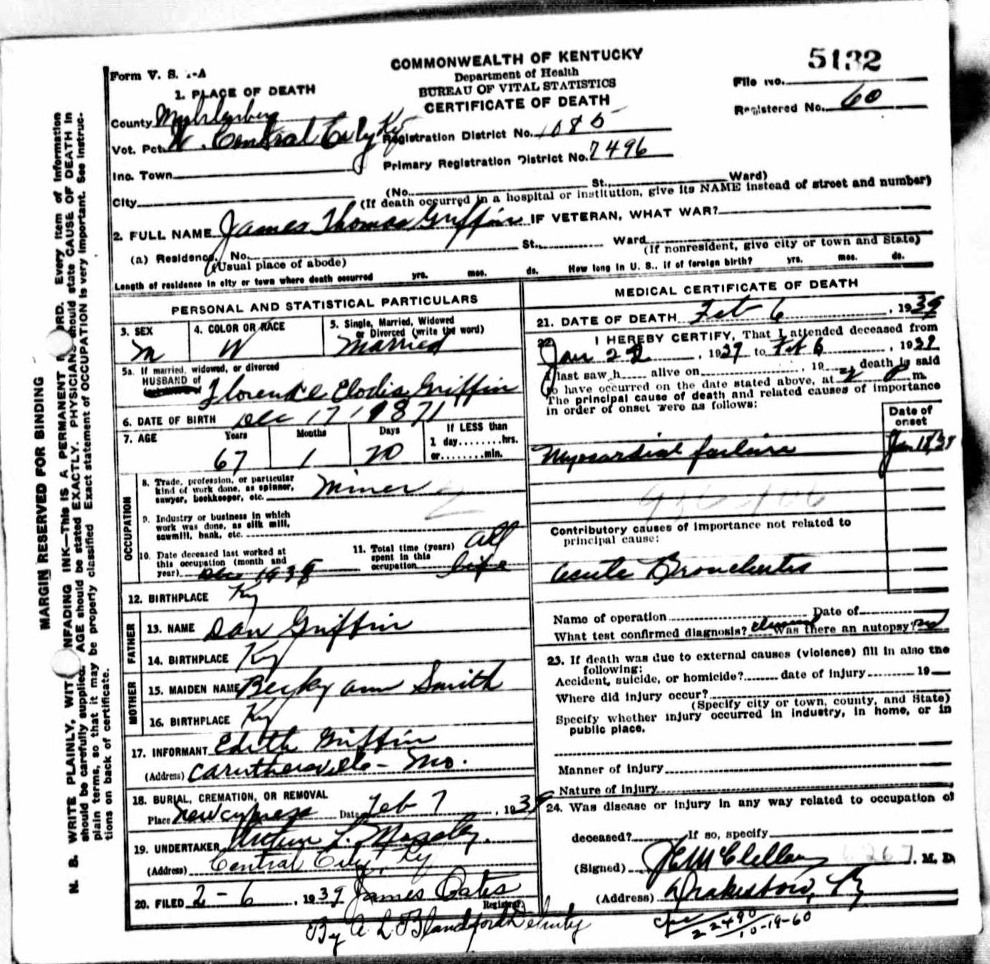 Death certificates gr kentucky death certificate 5132 1betcityfo Image collections
