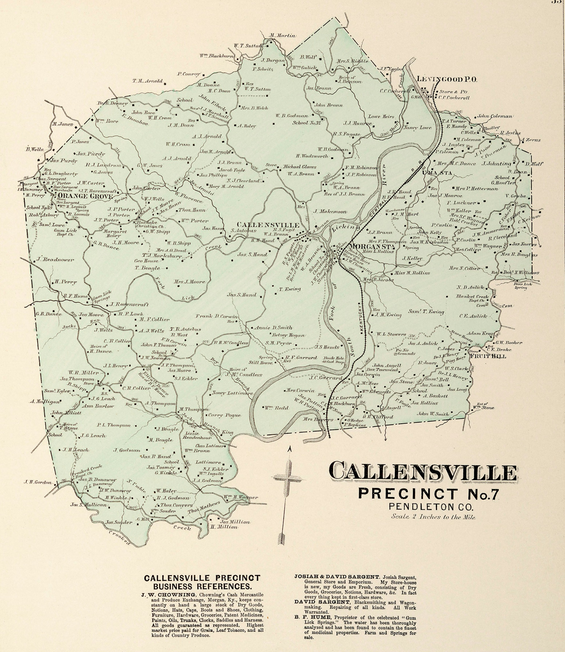 pendleton county maps